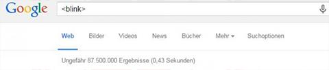 Blink Screenshot Google