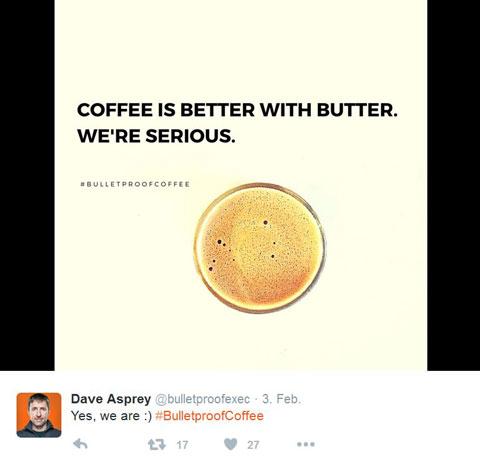 Dave Asprey Twitter