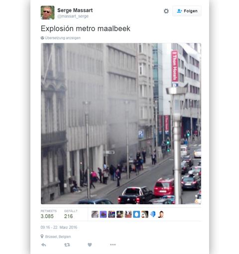 Explosion Maalbeek