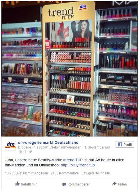 Facebook Dm Drogerie Markt Deutschland480