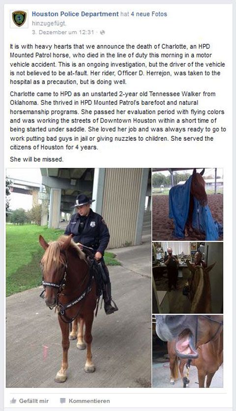 Facebook Houston Policedepartment
