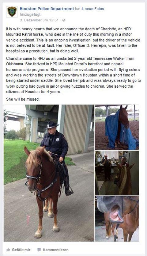 Facebook Houston Policedepartment