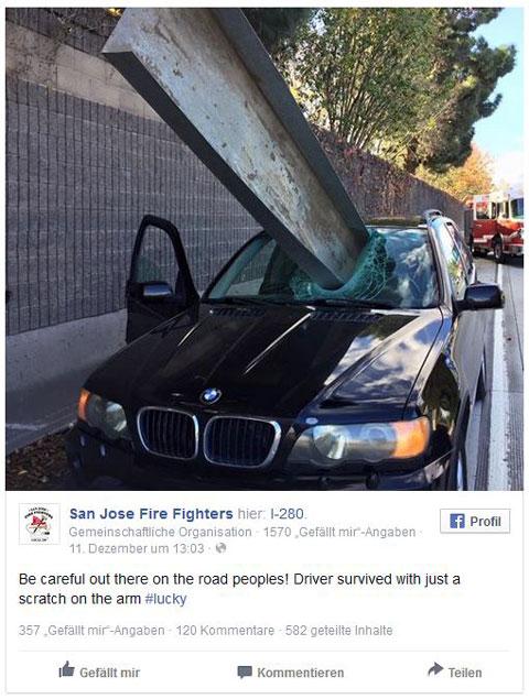 Facebook San Jose Fire Fighters
