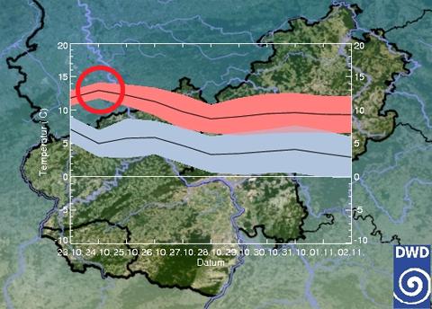 Karte Dwd