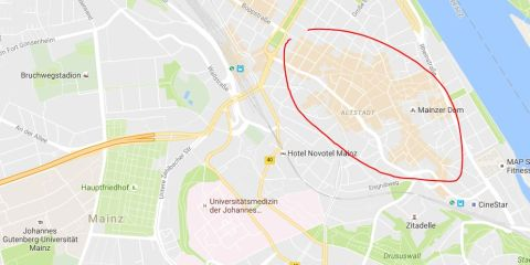 Karte Google Maps 480