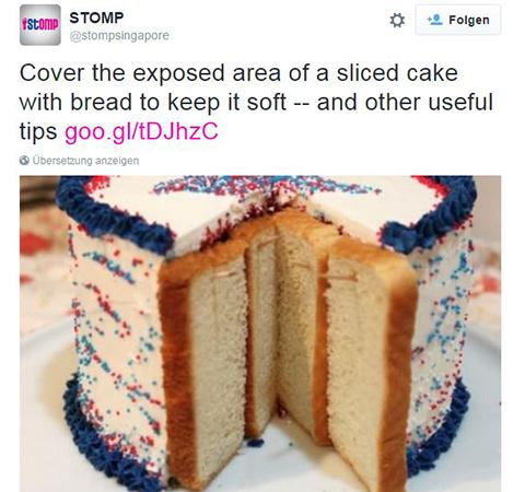 Kuchen Stomp Twitter