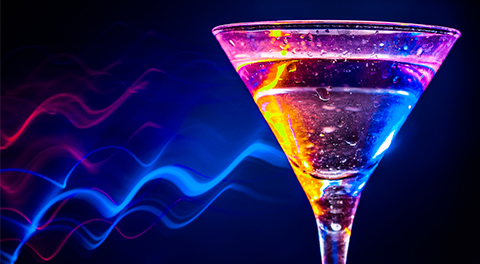 Leuchtendes Glas 480