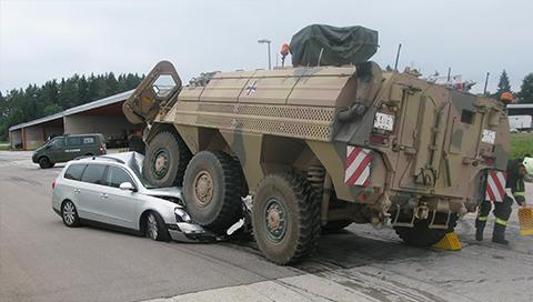 Panzer Polizeipraesidium Konstanz