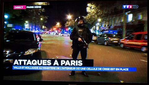 Paris Attacke