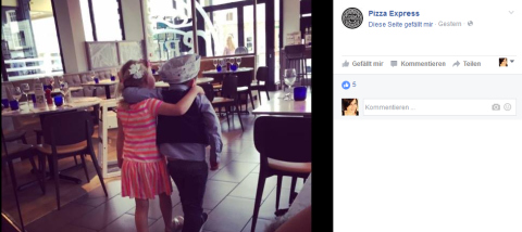 Pizza Express Facebook 2
