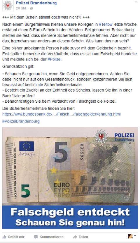 Polizei Brandenburg Fb