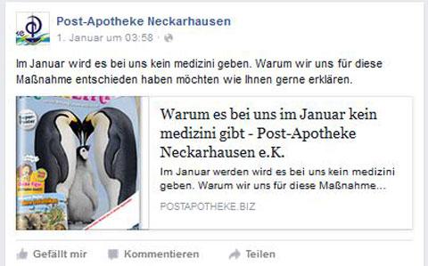 Post Apotheke Neckarhausen