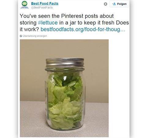 Salat Glas Best Food Facts Twitter