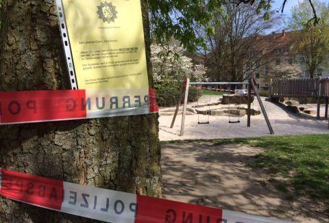Spielplatzsuedstrasse Polizei Muenster 480