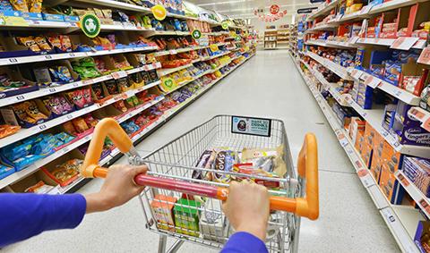 Supermarkt St 1000words
