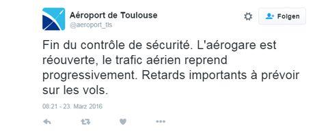 Tweet Toulouse