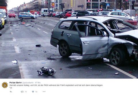 Unfall Berlin
