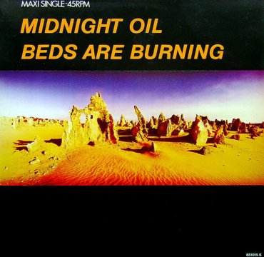 Cover_Midnight Oil_Beds are burning_CBS