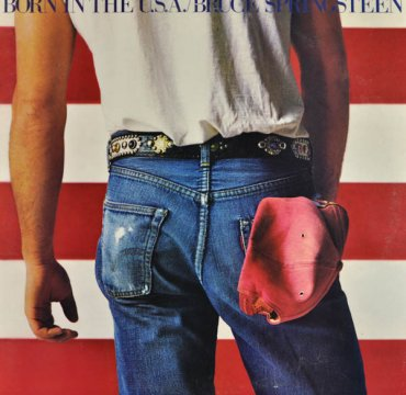 Cover_Born in the USA_Bruce Springsteen_CBS