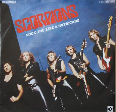 Cover_Scorpions_Rock you like a hurricane_Harvest