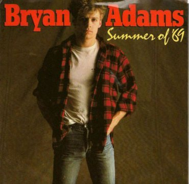Cover_Bryan Adams_Summer of 69_A&M Records