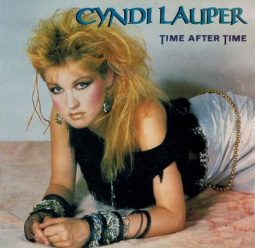 Cyndi Lauper_Time After Time_Cover_Portrait