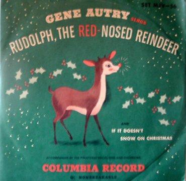 Gene Autry_Rudolph_Cover_Columbia