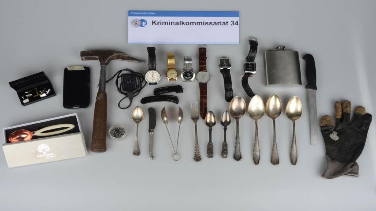 Gestohlene Gegenstände