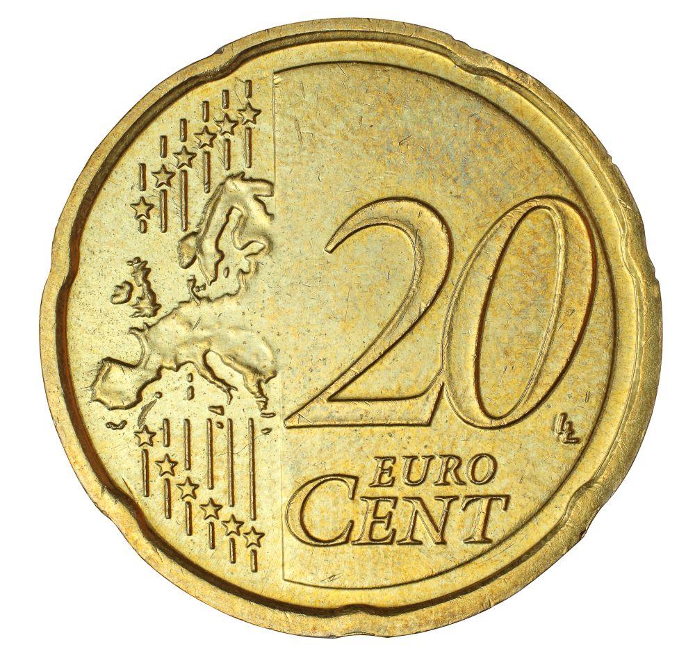 Dieses Detail Auf 20 Cent Münze Ist 500 Euro Wert Rpr1