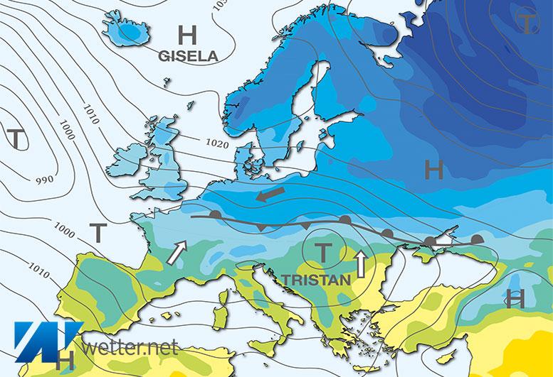 Die Kälte flutet Deutschland - wetter.net